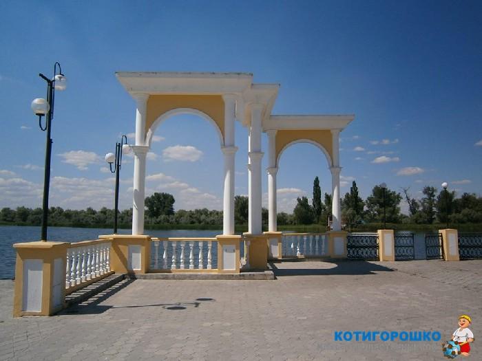 Соляное озеро Гопри