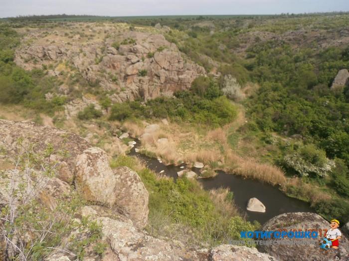 Актовский каньон, Трикратский лес