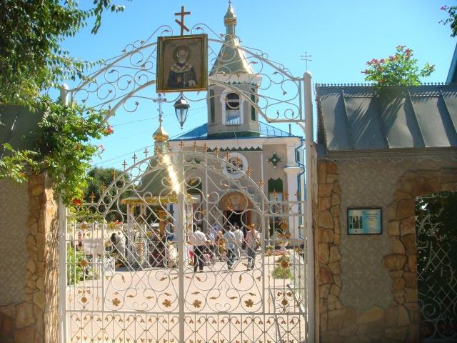 Свято-Николаевский храм с. Кулевча