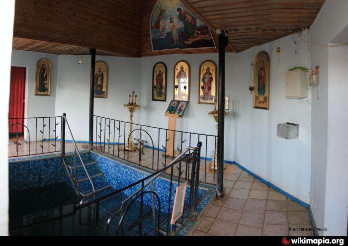 Купальня на источнике Иоанна Сочавского