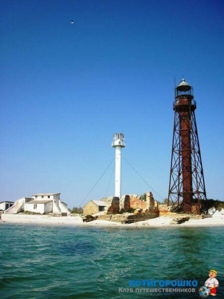 Джарылгач - поездка на остров