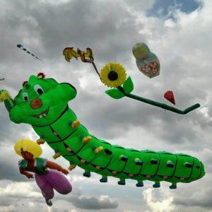 Фестиваль воздушных змеев 2020 в селе Трихаты