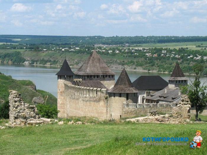 Від Межибіжського замку до Хотинської фортеці