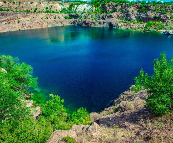 Радоновое озеро возле с. Мигия