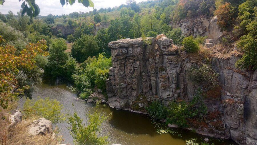 Букський каньон та дивовижна Черкащина