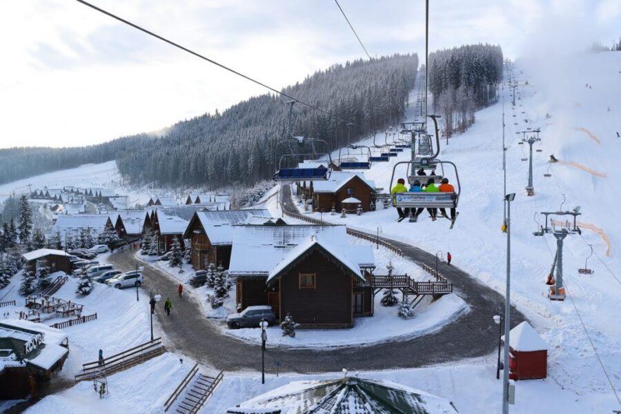 Зимова казка міста Лева+ гірськолижний комплекс «Плай»