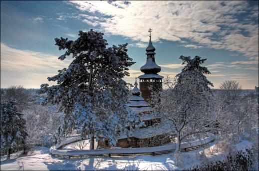 Тур в зимние Карпаты