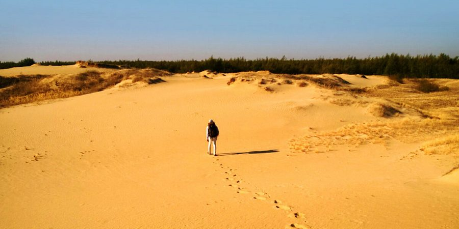 Олешковская пустыня - Семиозерье